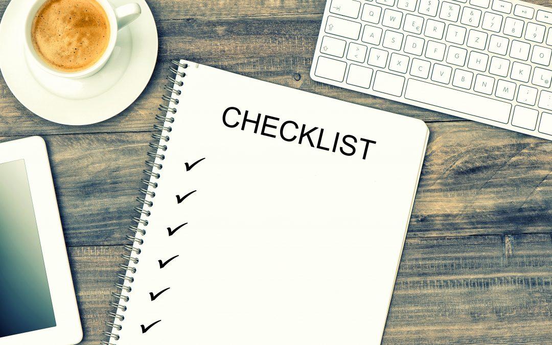 checklist artikel