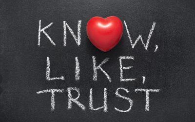 Know, Like, Trust factor voor online ondernemers
