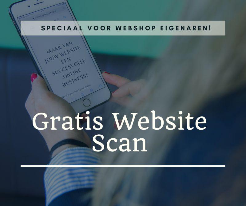 Gratis website scan